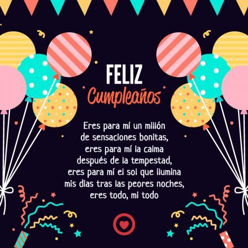 120 Feliz Cumpleanos Imagenes Mensajes Amor Gratis