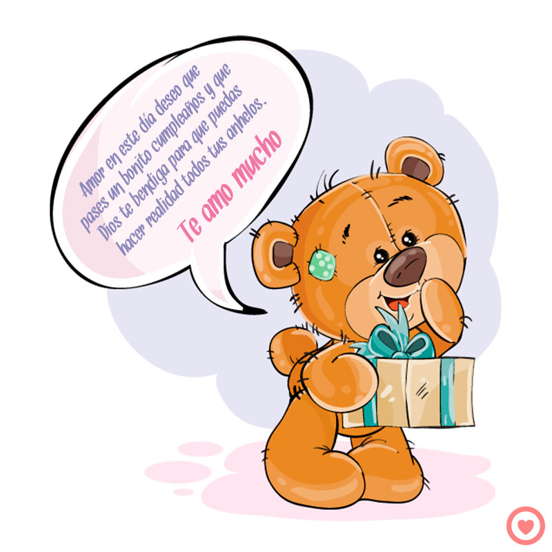 bonito mensaje de cumpleaños para mi novio