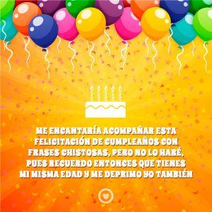 bonito mensaje gracioso de cumpleaños
