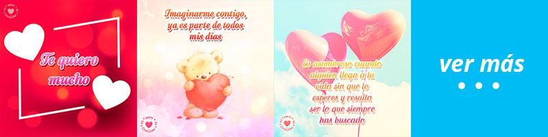 románticas imágenes de corazones con frases