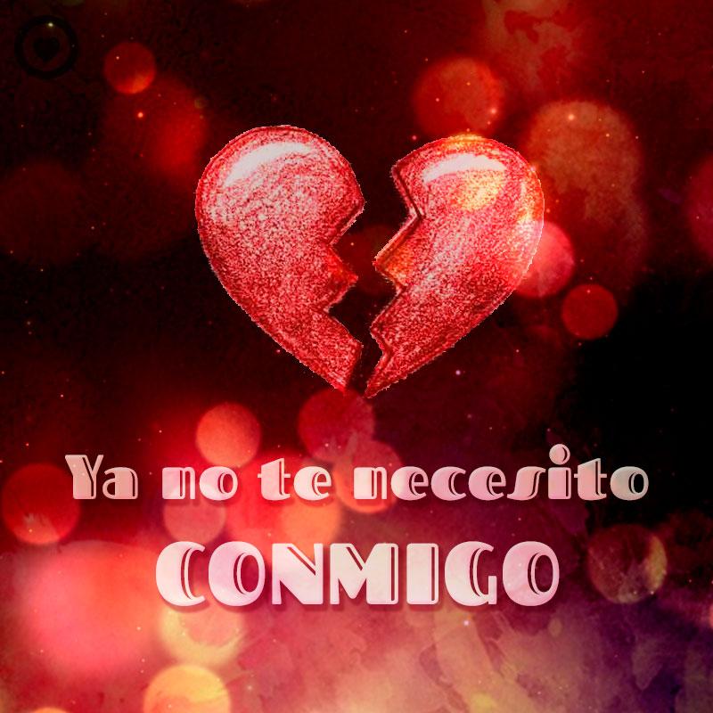 Frase Corta De Amor Desesperado Con Imagen De Corazon Roto