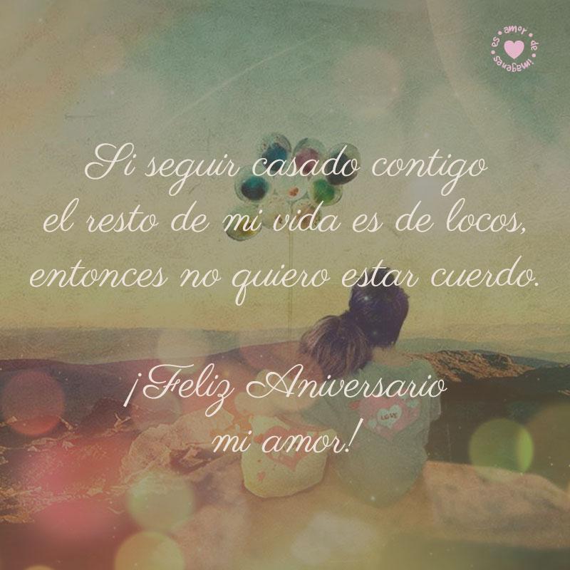Frase De Amor Para Aniversario De Bodas Con Bonito Dibujo De Amor