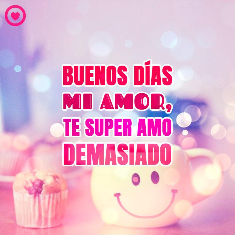 Hermosa Frase De Buenos Dias Mi Amor