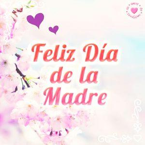 Hermosa imagen de feliz día de la madre