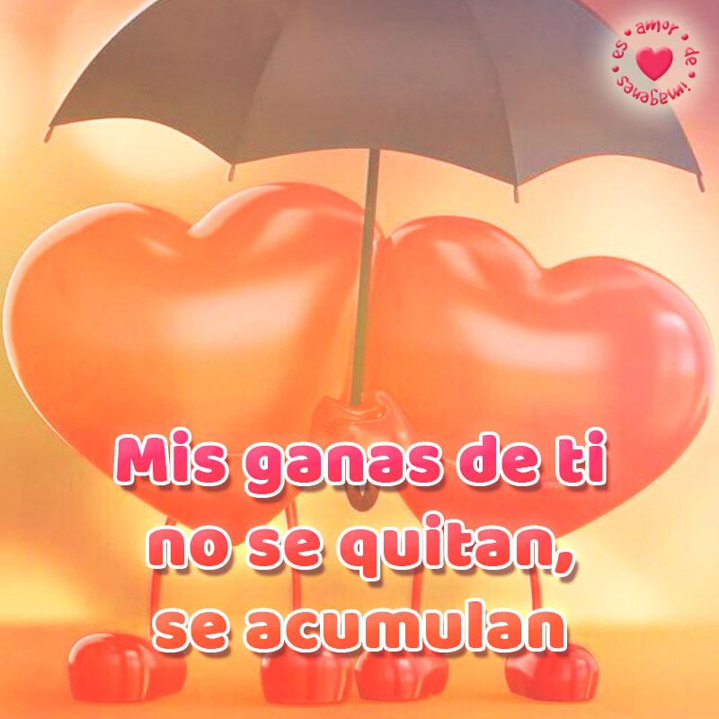 imagen de corazones con frase de amor