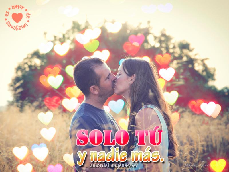 Imagen De Hermoso Beso De Amor Verdadero Bellas Frases De Una Pareja