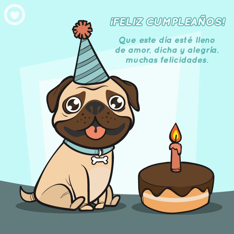 imagen feliz cumpleaños perro