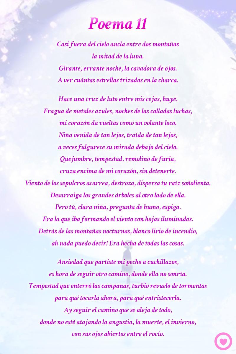 Poema 11 pablo neruda for Poemas de invierno pablo neruda