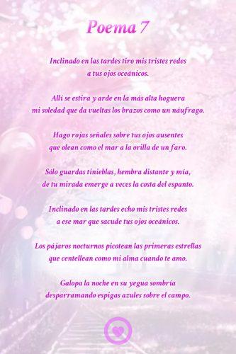 Poemas De Pablo Neruda Cortos De Tristeza Poema De Amor