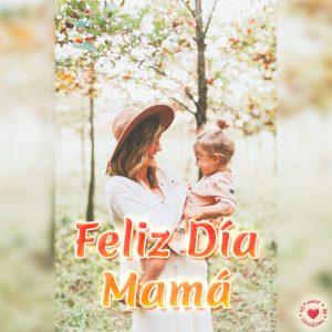 Tarjeta bonita de feliz día mamá