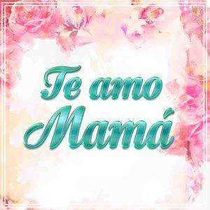 Te amo mamá, frase