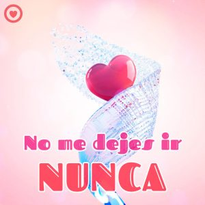 bonita imagen de amor de corazón 3d con frase corta