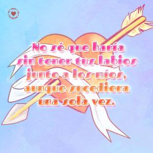 corazón-con-flecha-y-tela-con-linda-frase-de-amor-gratis