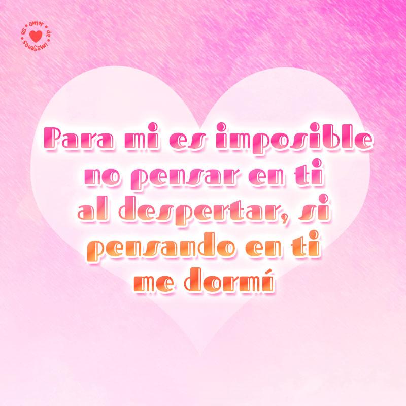 Hermosa Imagen De Amor De Corazon Con Frase Para Mi Novio