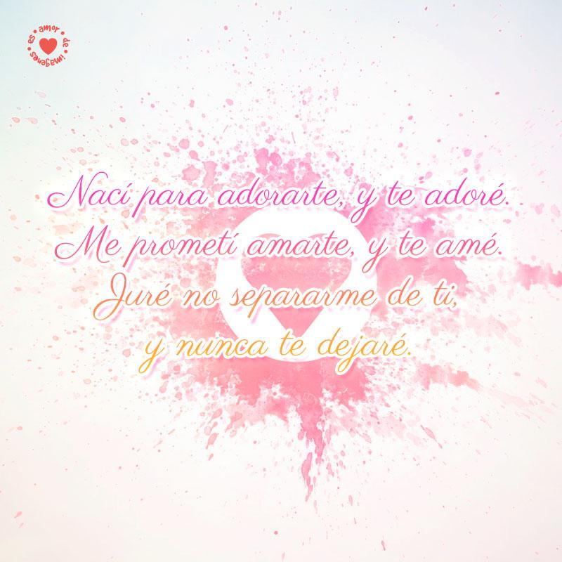 Hermoso Corazon En Fondo Claro Con Linda Frase De Amor Para