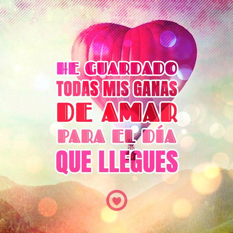 Imagen De Corazon Rojo Globo Con Frase De Amor