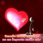 linda imagen de amor de corazón 3d