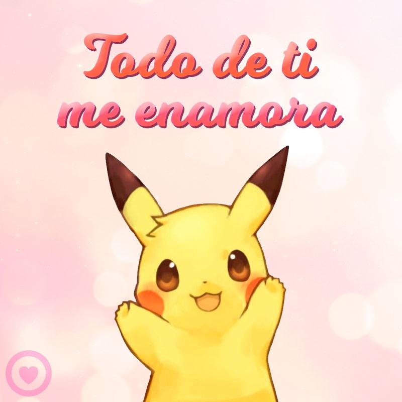 imagen kawaii de pikachu
