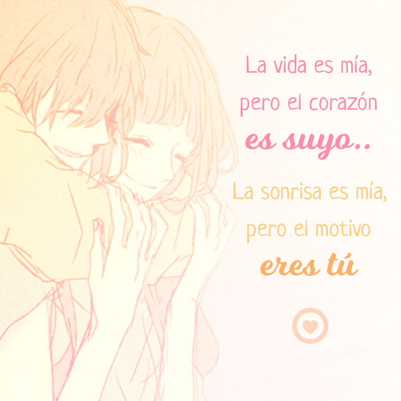 linda imagen de amor kawaii anime