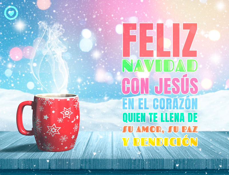 bonita imagen de feliz navidad religiosa