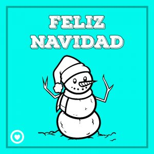 bonita imagen de navidad para dibujar hombre de nieve