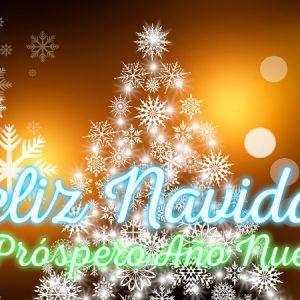bonita imagen de navidad y año nuevo