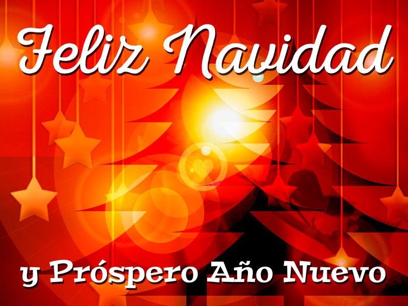 linda imagen de feliz navidad y año nuevo