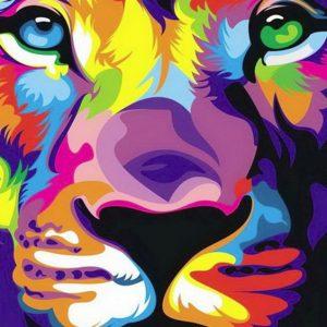 bonito fondo para celular de león