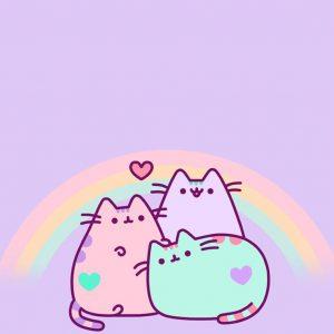 bonito fondo para celular kawaii de gatitos