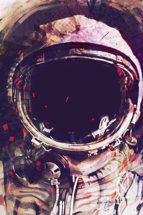 chida imagen de astronauta para fondo de celular