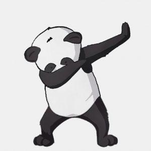 fondo para celular de panda dab
