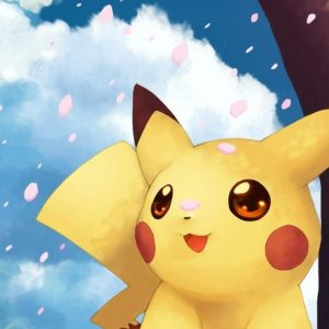 tierno fondo de pantallas para celular de pokemon pikachu