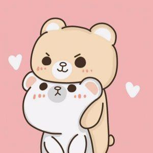 tierno fondo kawaii de osos