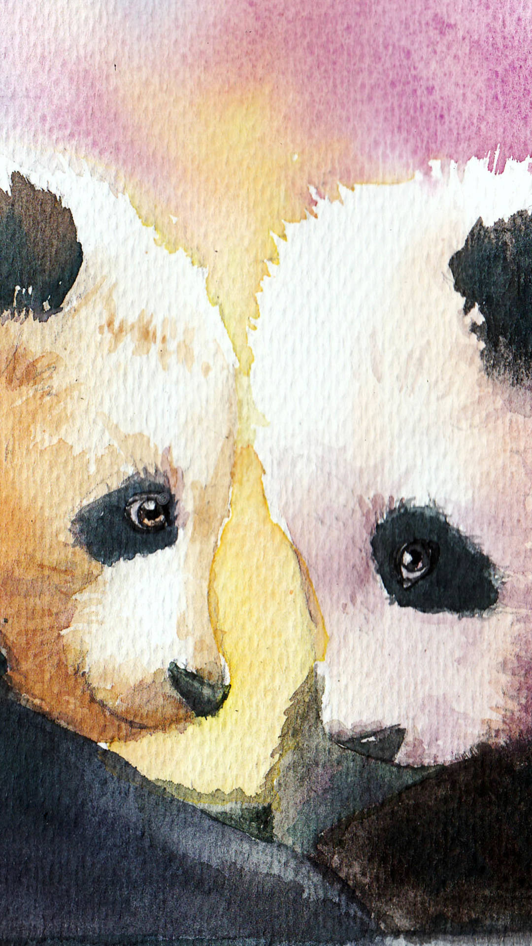 wallpaper de pandas bonitos