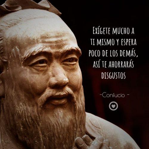 Bonita frase sabia de Confucio