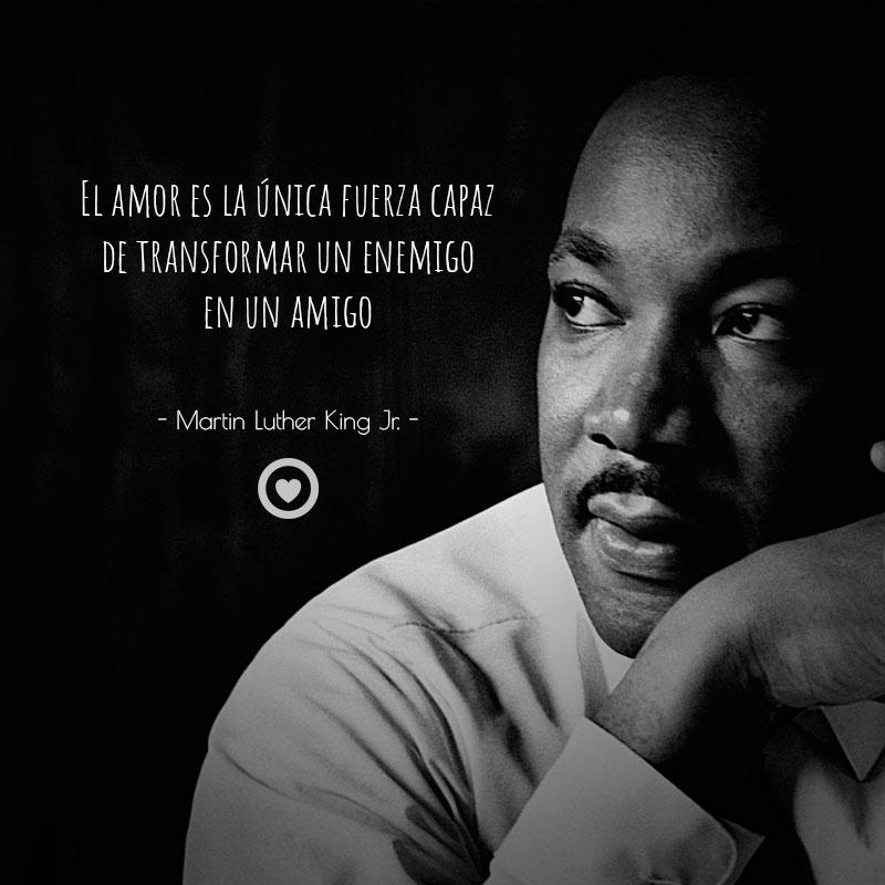Frase célebre de amistad de Martin Luther King Jr