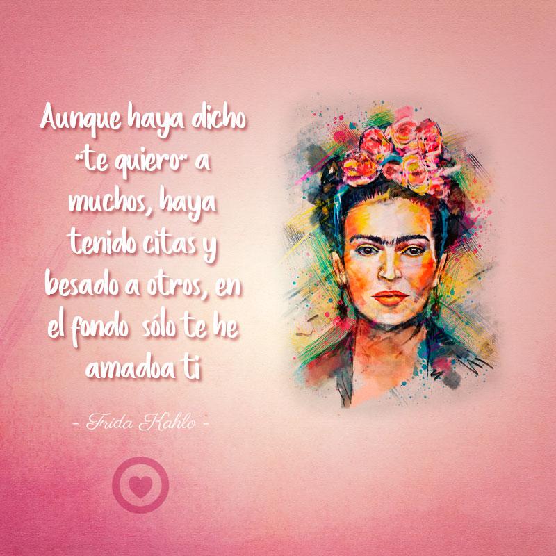 Frase célebre de amor de Frida Kahlo