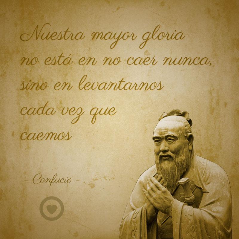 Frase célebre de vida de Confucio
