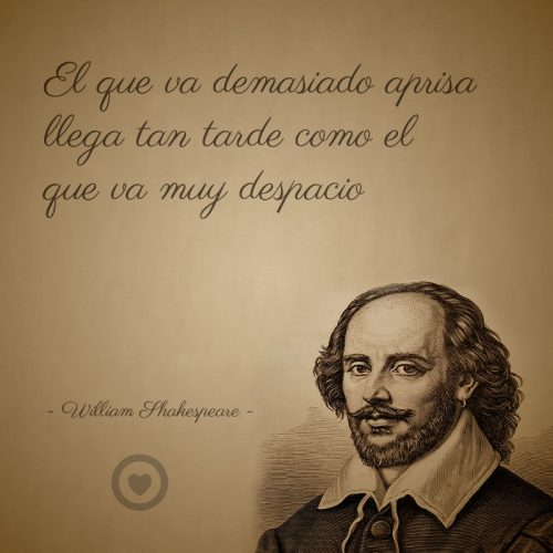Frase célebre de vida de William Shakespeare