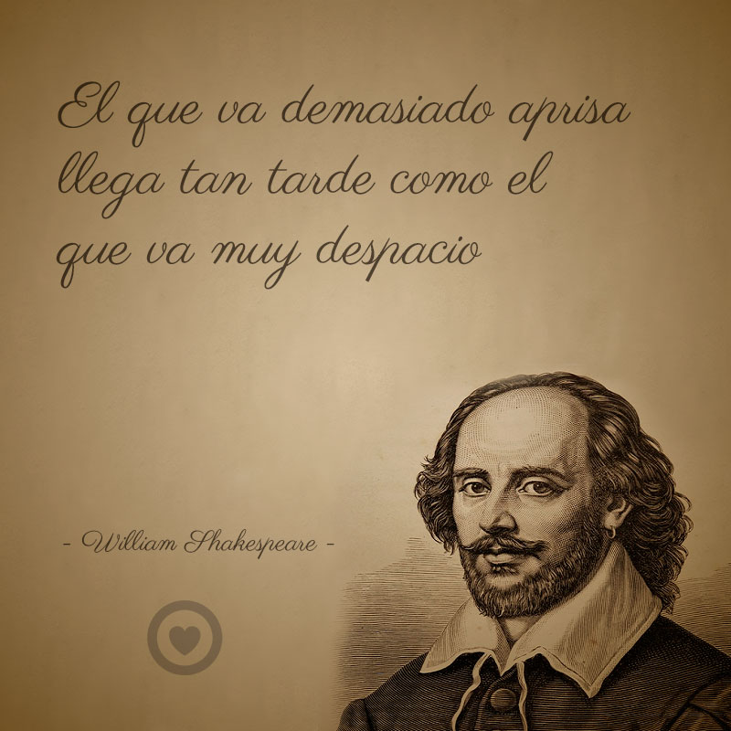 Frase célebre de vida de William Shakespeare