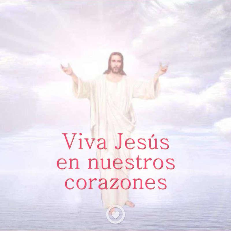 Imagen de jesús con frase