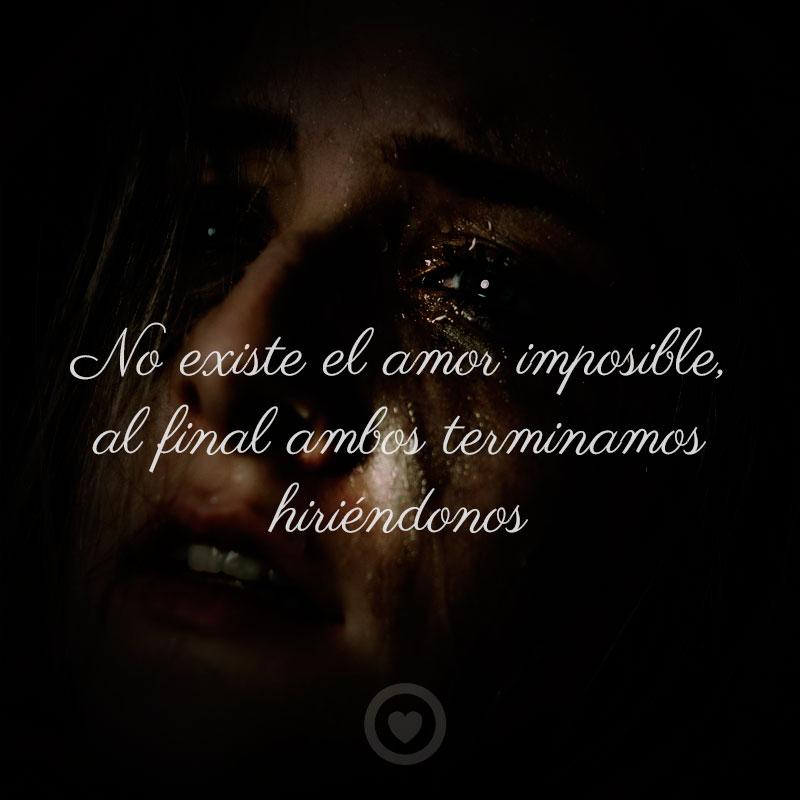 Triste de amor imposible